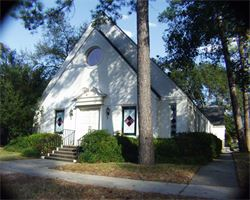 Historic Chapel built in 1936 used for Funerals and Memorial Services.