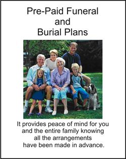 Funeral planning for you and your family needs.